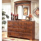 Signature Design by Ashley Timberline Dresser and Mirror Set