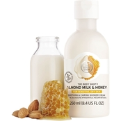 The Body Shop Almond Milk & Honey Shower Cream 8.4 oz.