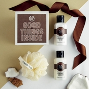The Body Shop Coconut Treats Cube Bath and Body Gift Set