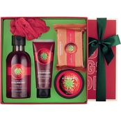The Body Shop Strawberry Essential Collections Bath and Body Gift Set