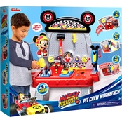 Disney Mickey and the Roadster Racers Pit Crew Workbench