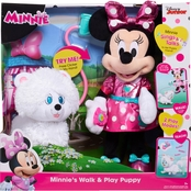 Disney Junior's Minnie Puppy Love Feature Plush