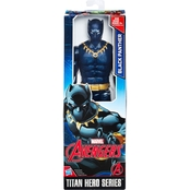 Marvel Titan Hero Series 12 In. Black Panther Figure