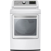LG Energy Star 7.3 cu. ft. Electric Ultra Large Capacity Dryer