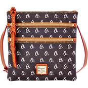 Dooney & Bourke MLB Baltimore Orioles Triple Zip Crossbody