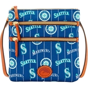 Dooney & Bourke MLB Seattle Mariners North/South Triple Zip Crossbody