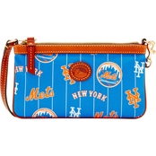Dooney & Bourke MLB New York Mets Large Slim Wristlet