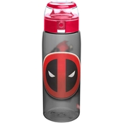 Zak Designs Deadpool 25 oz. Reusable Plastic Water Bottle