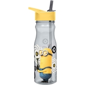 Zak Designs Minions 25 oz. Reusable Plastic Water Bottle