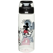 Zak Designs Mickey Sketch 25 oz. Reusable Plastic Water Bottle