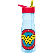 Zak Designs Wonder Woman 25 oz. Reusable Plastic Water Bottle