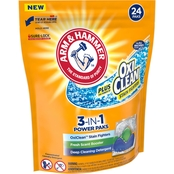 Arm & Hammer Plus OxiClean 3 in 1 Power Paks 24 Ct.