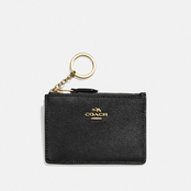 COACH Mini Skinny Crossgrain Leather ID Case