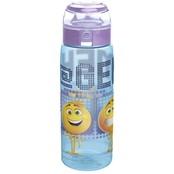 Zak Designs Emoji 25 Oz. Reusable Plastic Water Bottle