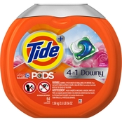 Tide Pods Plus Downy April Fresh HE Turbo Laundry Detergent Pacs 54 ct.