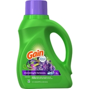 Gain Moonlight Breeze HE Liquid Laundry Detergent 50 Oz. 24 Loads