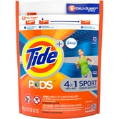 Tide Pods Plus Febreze Odor Defense Active Fresh Laundry Detergent 23 Pk.