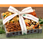 Wine Country Orchards Dried Fruit and Nuts Gift Basket