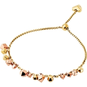 Michael Kors Tailored Two-Tone Nugget Slider Bracelet
