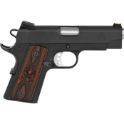 Springfield Range Officer Compact 9MM 4 in. Barrel 8 Rds 2-Mags Pistol Black