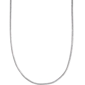 Sterling Silver 24 in. Franco Chain Necklace