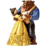 Disney Traditions Belle And Beast Dancing