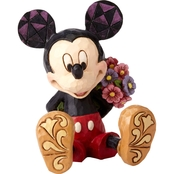 Disney Traditions Mini Mickey with Flowers