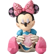 Disney Traditions Mini Minnie with a Heart