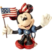 Disney Traditions Mini Patriotic Minnie