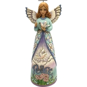 Jim Shore Heartwood Creek Peace Angel With Dove