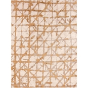 Karastan Contact Brushed Gold Area Rug