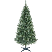 Puleo 6 Ft. Non-Lit Cashmere Christmas Tree