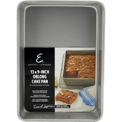 Emeril Lagasse Aluminized Steel Nonstick 13 in. x 9 in. Oblong Cake Pan