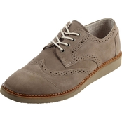 TOMS Desert Taupe Suede Brogues
