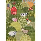 Momeni Lil Mo Whimsy Farm Land Rug