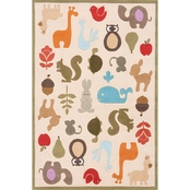 Momeni Lil Mo Whimsy Critters Rug