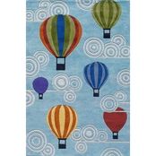 Momeni Lil Mo Whimsy Hot Air Balloons Rug