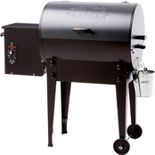 Traeger Tailgater 20 Wood Fired Grill in Blue