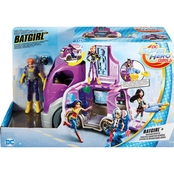 Mattel DC Superhero Batgirl Headquarters On Wheels