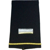 Army Shoulder Mark Officer First Lieutenant 1LT Small Female Slide-On