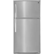 kenmore 51133. kenmore 21 cu. ft. top freezer refrigerator with ice maker 51133