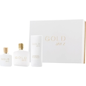Jay Z Gold Eau de Toilette Spray 3 Pc. Gift Set