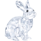 Swarovski Rabbit Glass Figurine