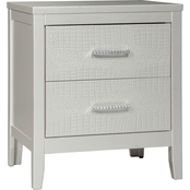 Signature Design by Ashley Olivet Two Drawer Nightstand
