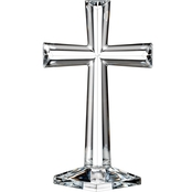 Waterford Marquis Selah 10 in. Crystal Standing Cross