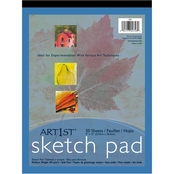 Pacon Art1st Sketch Pad, 60 lb. Heavyweight Drawing Paper 9x12, 50 Sheets