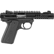 Ruger Mark IV 22/45 22 LR 4.4 in. Barrel 10 Rnd 2 Mag Pistol Black