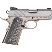 Magnum Research 1911USS Undercover 45 ACP 3 in. Barrel 6 Rds Pistol Stainless Steel