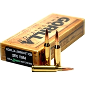 Gorilla .260 Rem 123 Gr. Sierra MatchKing Boat Tail Hollow Point, 20 Rounds