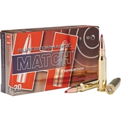 Hornady ELD Superformance Match .308 Win 168 Gr., 20 Rounds